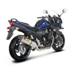 Silencieux adaptable SLIP-ON Akrapovic SUZUKI GSF 650 BANDIT (2007-2012)