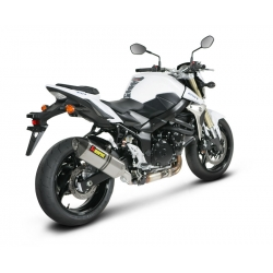 Silencieux adaptable SLIP-ON Akrapovic SUZUKI GSR 750 (2011-2012)