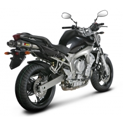 Silencieux adaptable SLIP-ON Akrapovic YAMAHA FZ 6 (2004-2009)