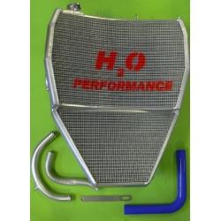 Radiateur d'eau grande capacité H2O performance Kawasaki ZX10R 08-10