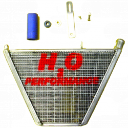 Radiateur d'eau additionnel H2O Performance Kawasaki ZX6R 05-06