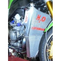 Radiateur d'eau grande capacité H2O performance Kawasaki ZX6R 05-06
