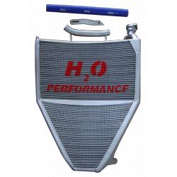 Radiateur d'eau grande capacité H2O performance Triumph Daytona 675 06-12