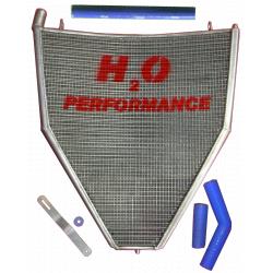 Radiateur d'eau grande capacité H2O performance Honda CBR1000 RR 06-07