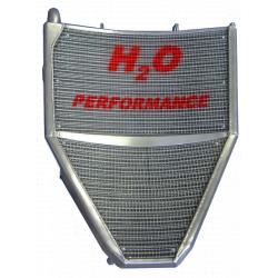 Radiateur d'eau grande capacité H2O performance Honda CBR600 RR 07-15