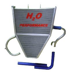 Radiateur d'eau grande capacité H2O performance Kawasaki ZX6R 09-15