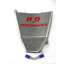 Radiateur d'eau grande capacité H2O performance Suzuki GSXR600-750 K7/K8