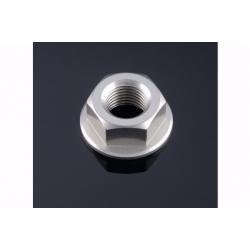Écrou d'axe de bras oscillant en aluminium anodisé taillé masse M14 x 1,5 LIGHT