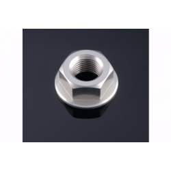 Écrou d'axe de roue arrière en aluminium anodisé taillé masse M 14 x 1,5 LIGHTE