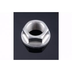 Écrou d'axe de bras oscillant en aluminium anodisé taillé masse M20 x 1,5 LIGHT