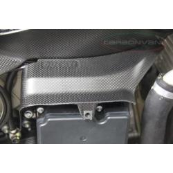 Carénage d'échangeur d'huile carbone CARBONVANI Ducati 899, 1199 Panigale 12-14