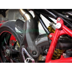 Protection d'echappement CARBONVANI Ducati 848 / 1098 /1198