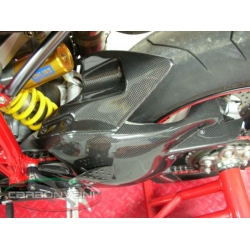 Garde boue arrière court CARBONVANI Ducati 848 / 1098 /1198