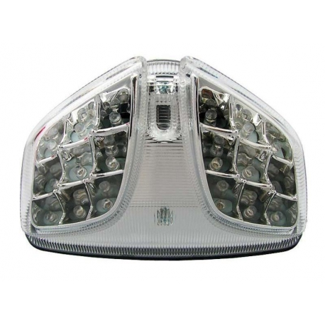Feux arrière à LEDS homologué avec clignotants intégrés SUZUKI GSXR600 / GSXR750