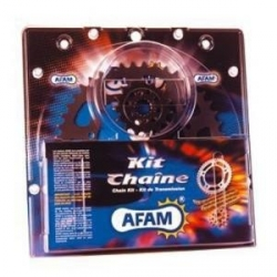 Kit chaîne acier moto AFAM KAWASAKI ER6N CAF,CBF ER650 05-11