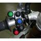 Commodo gauche superbike moto gp 5 fonctions maps / traction control / pit limit