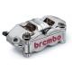 Paire d'étriers de frein radiaux taillés masse monobloc SBK BREMBO NICKELE P4 32/36 100mm