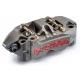 Paire d'étriers de frein radiaux taillés masse monobloc SBK BREMBO P4 34/34 108mm 4 PLAQUETTES