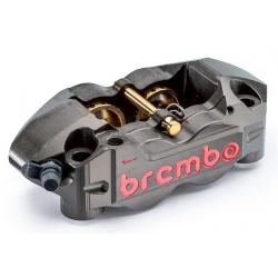 Paire d'étriers de frein radiaux taillés masse monobloc ENDURANCE BREMBO P4 32/36 108mm