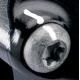 Paire d'étriers de frein radiaux taillés masse assemblés HPK BREMBO 484 NOIR 32/32 100mm