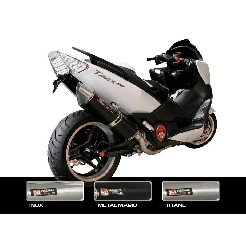 ligne compl te yoshimura inox silencieux tri oval titane homologu yamaha tmax 500 my gp parts. Black Bedroom Furniture Sets. Home Design Ideas