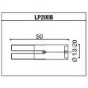LP200B Adaptateur de montage PROGUARD SYSTEM RIZOMA pour guidon d'origine APRILIA RSV4