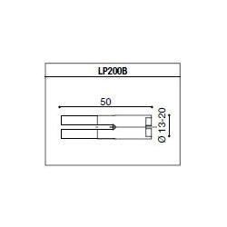 LP200B Adaptateur de montage PROGUARD SYSTEM RIZOMA pour guidon d'origine YAMAHA R6 99-05