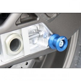 Diabolos support b'quille 8 mm GSG MOTO S1000RR, HP4, S1000R aluminium