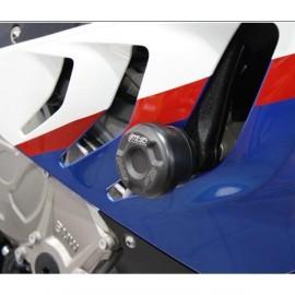 Tampon de remplacement pour tampons de protection avec platines de d'port GSG MOTO S1000RR 2010-2011