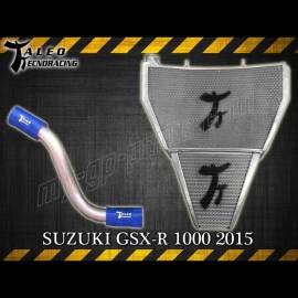 Radiateur d'huile et d'eau grand format Taleo Tecnoracing GSXR1000 09-16