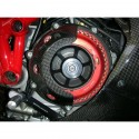 Protection de carter embrayage ouverte carbone DUCATI MONSTER 900 / 1000DS / S4 / S4R / S4RS