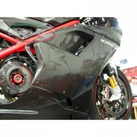 Flanc droit CARBONVANI SBK Ducati 848 / 1098 /1198