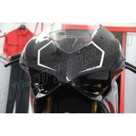 Tête de fourche racing carbone Ducati 899 Panigale