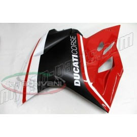 Flanc gauche racing carbone Ducati 899 Panigale