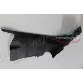 Cache entrée d'air droit carbone CARBONVANI Ducati 899, 1199 Panigale 12-14
