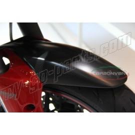 Garde-boue avant rouge carbone CARBONVANI Ducati Multistrada 1200