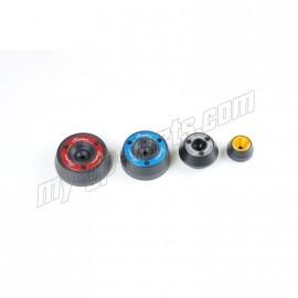 Kit de protection d'axe de roue avant et arrière LIGHTECH Z1000 07-09