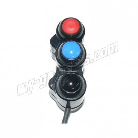 Commodo droit 3 fonctions S1000RR 09-15, HP4