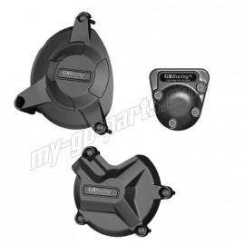 Kit de 3 protections de carter GB Racing S1000RR 2009-2016, HP4, S1000R, BIMOTA