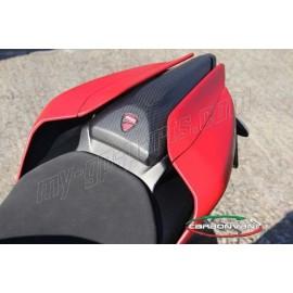 Coque arrière route rouge (3 pièces) CARBONVANI 959 Panigale, 1299 Panigale, Panigale R 2015-2018