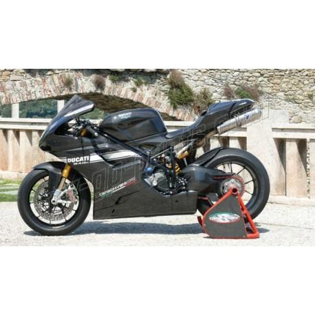 Carénage CARBONVANI complet SBK Racing Ducati 848 / 1098 /1198