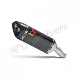 Silencieux carbone Akrapovic MT-03, R3 2015-2016