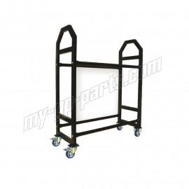 Chariot à roues aluminium LIGHTECH